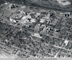 Aerial of IUPUI Looking NW, 1954.