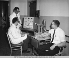 Cyrus C. Johnston and Colleagues in Laboratory, 1965.