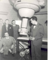 Dr. John A. Campbell with Lions Club Members Posing with X-ray Equipment, 1948.