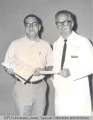 C.C. Boyer Presenting Award to Dentry Wayne Lambert, 1969.