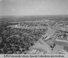 Aerial View of IUPUI Looking SW , 1967.