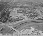 Aerial View of IUPUI Looking S, 1967.