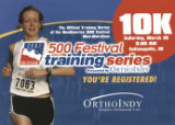 10K  Training Series Confirmation Postcard, 2007