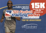15K Training Series Confirmation Postcard, 2007