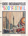 1966 Indianapolis '500' Festival Souvenir Program