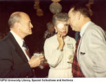 Bill and Sherrie King with Wendell Phillips, 1981.