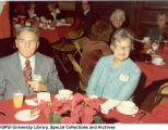 Art and Mary Goodwin at Christmas Party, 1981.