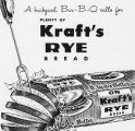 Advertisement for Kraft's Rye Bread