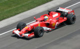 Michael Schumacher Claims Pole at U.S. Grand Prix, 2006
