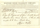 Major Dufficy to Colonel B. F. Mullen, 1863-05-09